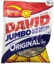 David Jumbo Sunflower Seeds 5.25-oz. 12-Pack for $10 + free shipping