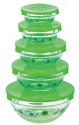 10-Piece Glass Storage Nesting Bowl Set for $15 + free shipping