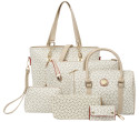 Faux Leather 6-Piece Bag Set for $28 + free shipping w/ $29