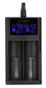 iEGrow 2-Bay Smart Li-ion Battery Charger for $10 + free shipping w/ Prime