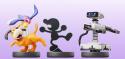 Nintendo Amiibo Retro Figure 3-Pack $15 + pickup at GameStop