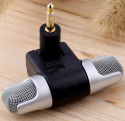 Mini Stereo Microphone for Smartphones for $2 + free shipping