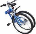 "GHP 26"" 7-Speed Folding Mountain Bike for $125 + free shipping"