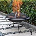 """Andover 30"""" Round Steel Fire Pit for $40 + pickup at Walmart"""