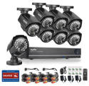 Sannce 8-Cam 960H CCTV Security System for $160 + free shipping