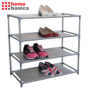 Home Basics 4-Tier Shoe Rack for $16 + free shipping