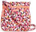 Vera Bradley Petite Double Zip Hipster Bag for $10 + free shipping