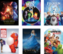 Disney Movie Downloads from Hollar from $2 w/ $10