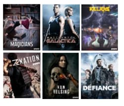 SyFy-Channel TV Series Seasons at Vudu: 5 for $25