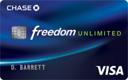 Chase Freedom Unlimited℠ Card