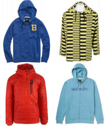 Burton Hoodies at The House: 24% to 60% off