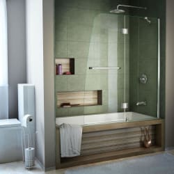 "DreamLine Aqua 48"" x 58"" Shower Door for $316"