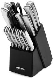 Farberware 15-Piece Cutlery Set for $20