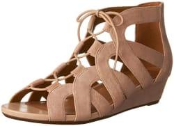 Clarks Women's Parram Lux Suede Sandals for $64