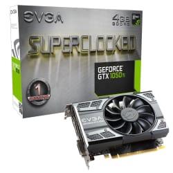 EVGA GeForce GTX 1050 Ti SC 4GB Video Card $114