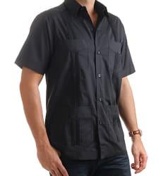 Mojito Collection Men's Guayabera Shirt for $14