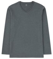 Uniqlo Men's V-Neck Long Sleeve T-Shirt (3XL) $4