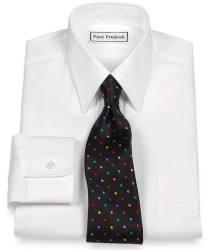 3 Paul Fredrick Men's Dress Shirts for $78