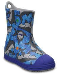 Crocs Kids' Bump It Graphic Rain Boots for $17