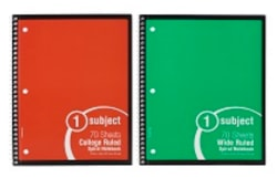 Meijer 70-Sheet Notebook for free
