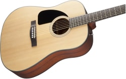 Fender CD-100 Left-Handed Acoustic Guitar for $140