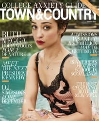 Town & Country Magazine 1-Year Sub for free