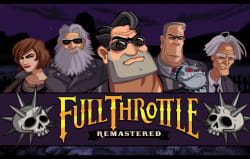 Full Throttle Remastered Theme for PS4 for free