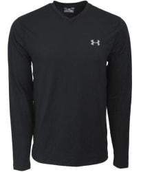 Under Armour Men's ColdGear V-Neck T-Shirt for $18