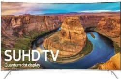 "Samsung 65"" 120Hz Curved 4K UHD Smart TV $1,400"