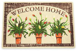 Welcome Mat w/ Gift for $6