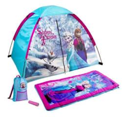 Disney Frozen Kids 4-Piece Fun Camp Kit for $28