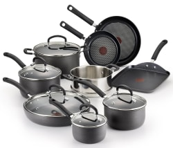 T-Fal Ultimate 14-Piece Cookware Set for $100