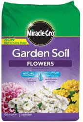 Miracle-Gro 1.5-cu. ft. Flower Soil Bag for $6