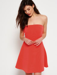 Superdry Women's East Side Bandeau Dress for $20