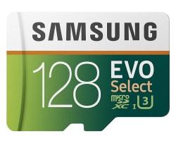 Samsung 128GB UHS-3 Class 10 microSDXC Card $45