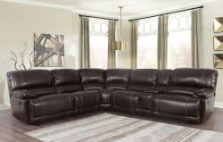 Abbyson Living Reclining 3pc Sectional Sofa $1,799
