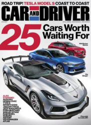 Car and Driver Magazine 4-Year Sub for $12
