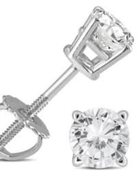 0.5-tcw Diamond White Gold Earrings for $199