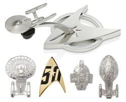 Star Trek 50th Anniversary Pin Set for $12