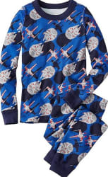 Hanna Andersson Boys' Star Wars Short Pajamas $19