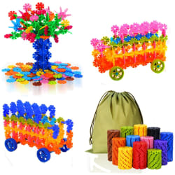 QuadPro Brain Flakes 570-Piece Building Set $14