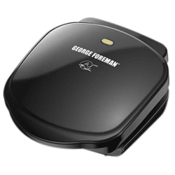 George Foreman 2-Serving Basic Plate Grill for $10