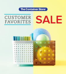 The Container Store Customer Favorites Sale