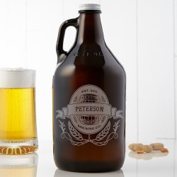 Personalized Brewing Co. 64-oz. Beer Growler $18