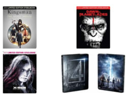 Steelbook Blu-rays for $10 or less