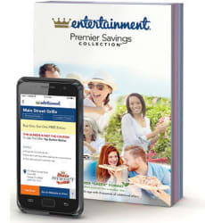 2017 Entertainment Book for $5