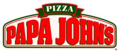Papa John's coupon: 50% off full-price pizzas