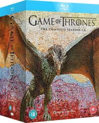 Game of Thrones: Complete Seasons 1-6 Blu-ray $62