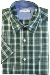 Nautica Men's Classic Fit Pacific Plaid Shirt $16