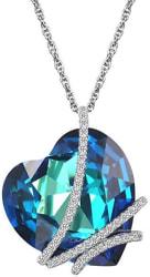 Caperci Swarovski Heart Pendant Necklace for $12